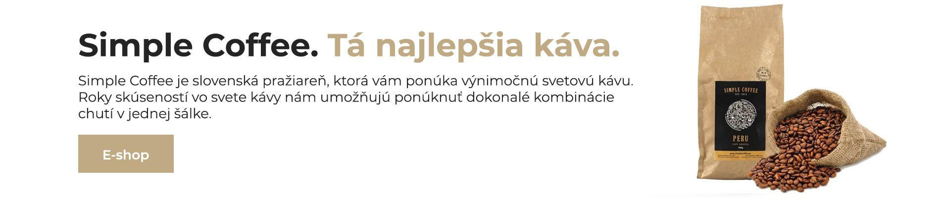 Tá najlepšia káva - Pražiareň kávy Bratislava