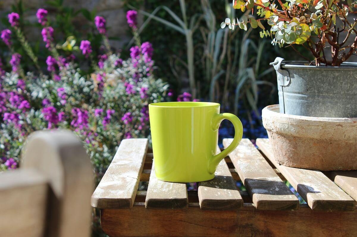 Káva do kvetov