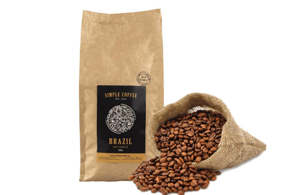 Brazílska káva - Brazil Cerrado (100% arabica)