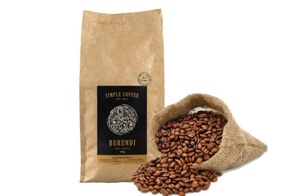 Burundi káva